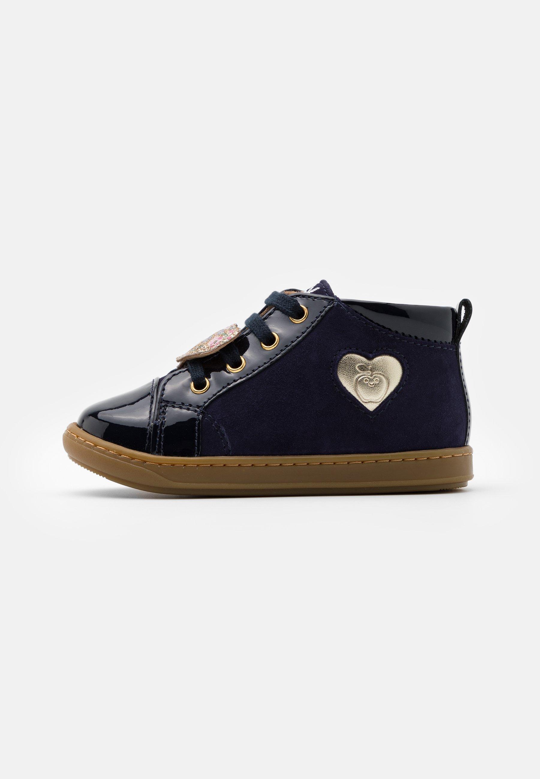 Shoo Pom Boots Fille Bleu Marine