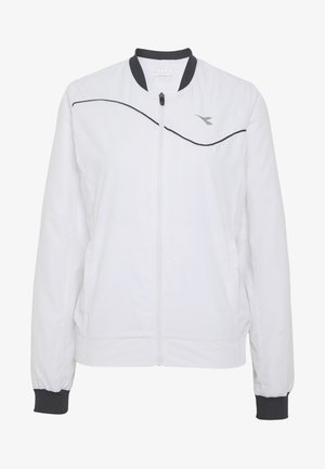JACKET COURT - Sportovní bunda - optical white