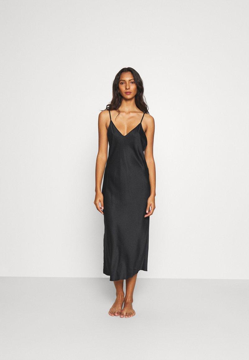 LingaDore - LONG DRESS - Nachthemd - black