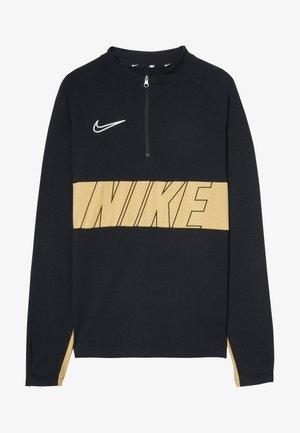 DRY ACADEMY DRIL  - T-shirt sportiva - black/gold/white