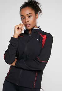ONLY Play - ONPSIERRA RUN JACKET - Træningsjakker - black/flame scarlet - 3