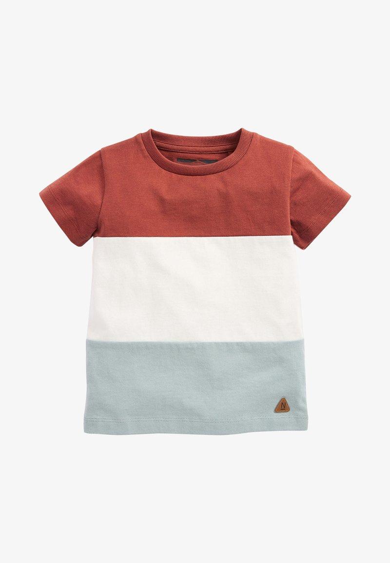 Next - Print T-shirt - brown/white