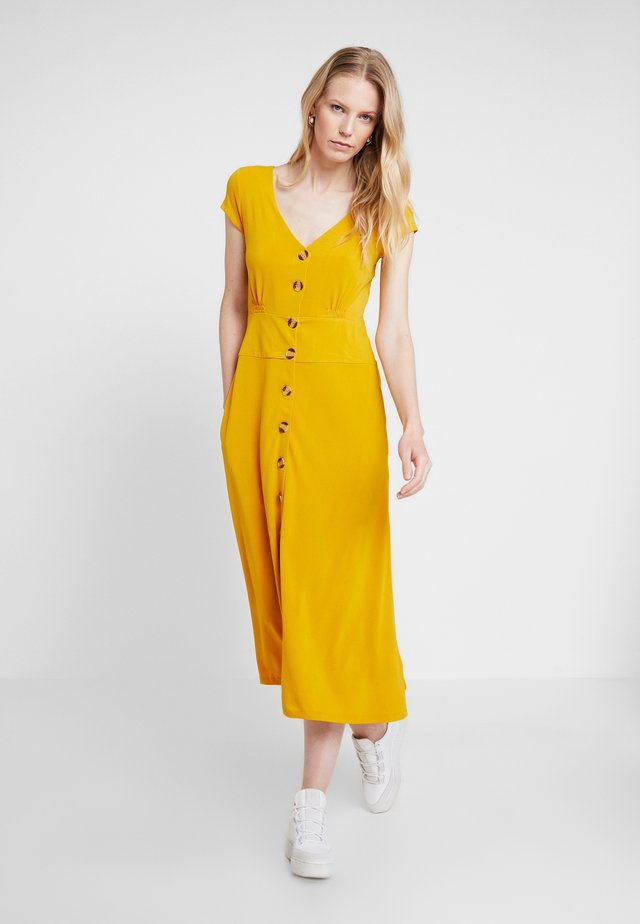 Maxi dress - golden yellow
