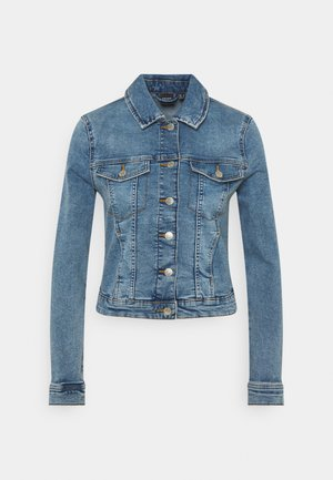 VMTINE SLIM JACKET - Giacca di jeans - light blue denim