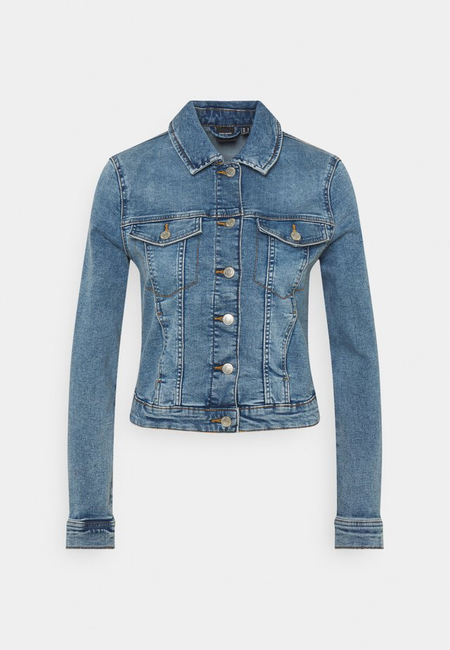 VMTINE SLIM JACKET - Veste en jean - light blue denim