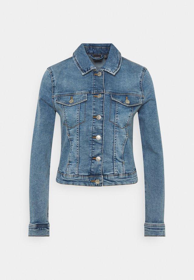 VMTINE SLIM JACKET - Denim jacket - light blue denim