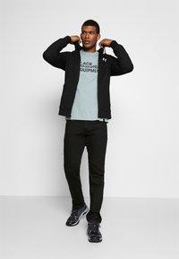 Black Diamond - FULLZIP HOODY STACKED - Sweatshirts - black - 1