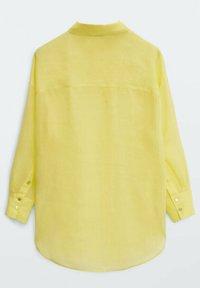 Massimo Dutti - Button-down blouse - yellow - 6