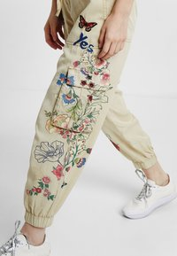 Desigual - PANT_DAVINIA - Tracksuit bottoms - brown - 3