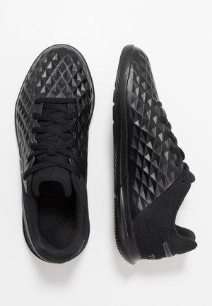 TIEMPO JR LEGEND 8 CLUB IC UNISEX - Indoor football boots - black