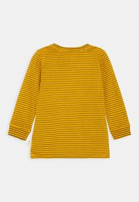 Cotton On - CORE LONG SLEEVE 2 PACK - Top s dlouhým rukávem - honey gold phantom stripe/grey marle - 1