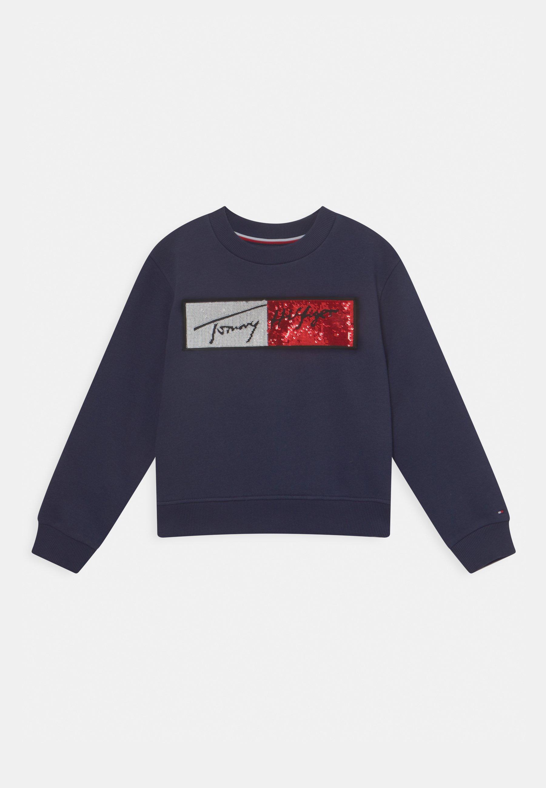 Kids SEQUINS FLAG - Sweatshirt