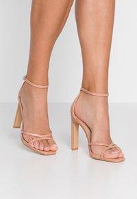 Glamorous Wide Fit - Sandály na vysokém podpatku - nude - 0