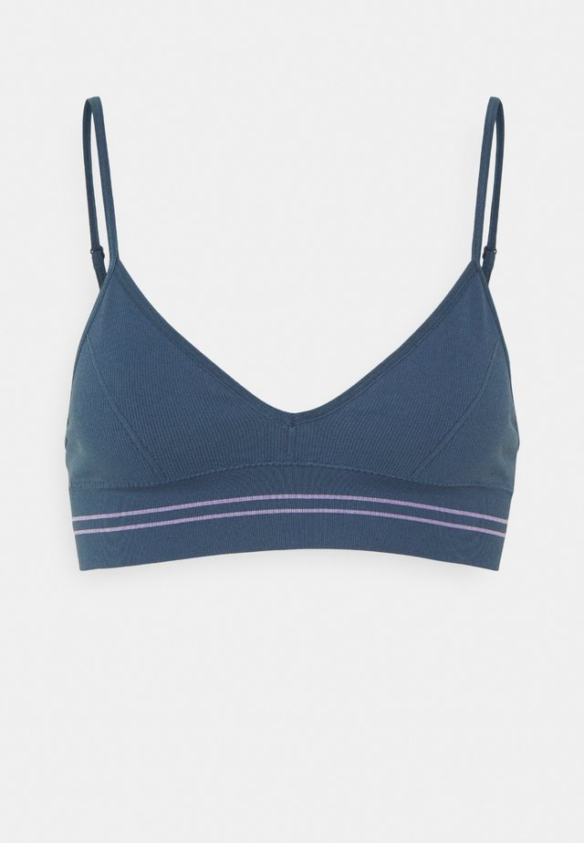 BAE BRALETTE - Triangle bra - dark denim