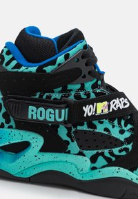 Ewing - ROGUE X YO! MTV RAPS - High-top trainers - black/teal - 5