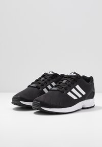 adidas Originals - ZX FLUX - Trainers - clear black/footwear white/clear pink - 4