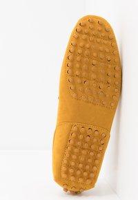 Pier One - UNISEX - Mokasíny - yellow - 4