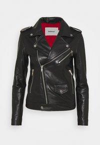 RIVER ORIGINAL - Leather jacket - black