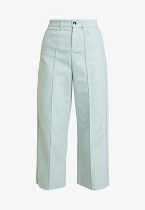 NIGHT PANT SUSTAINABLE - Trousers - mint haze