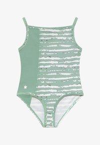 South Beach - GIRLS BALLET CAMISOLE LEOTARD - Leotard - sage green - 2