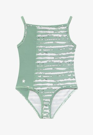 GIRLS BALLET CAMISOLE LEOTARD - Leotard - sage green