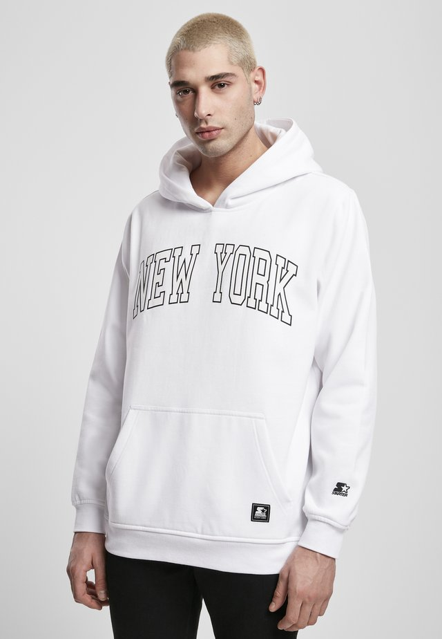 NEW YORK  - Sweat à capuche - white