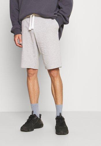 Shorts - light stone grey melange