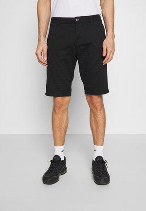 CHINO SHORTS - Shorts - black