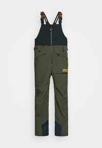 Oakley - SHELL BIB - Snow pants - black/green - 4