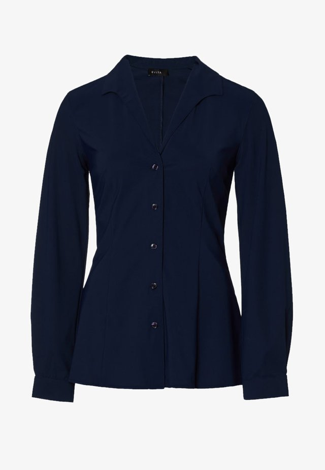 Overhemdblouse - navy