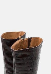 Anna Field - Vysoká obuv - brown - 5