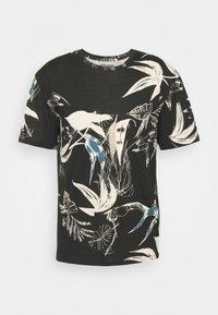 Jack & Jones - JORMONET TEE CREW NECK - T-shirt print - black - 3