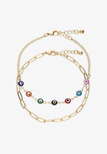 2 SET - Bracelet - goldfarben