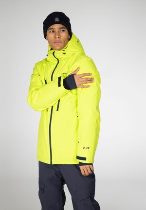 Snowboard jacket - lime rocks