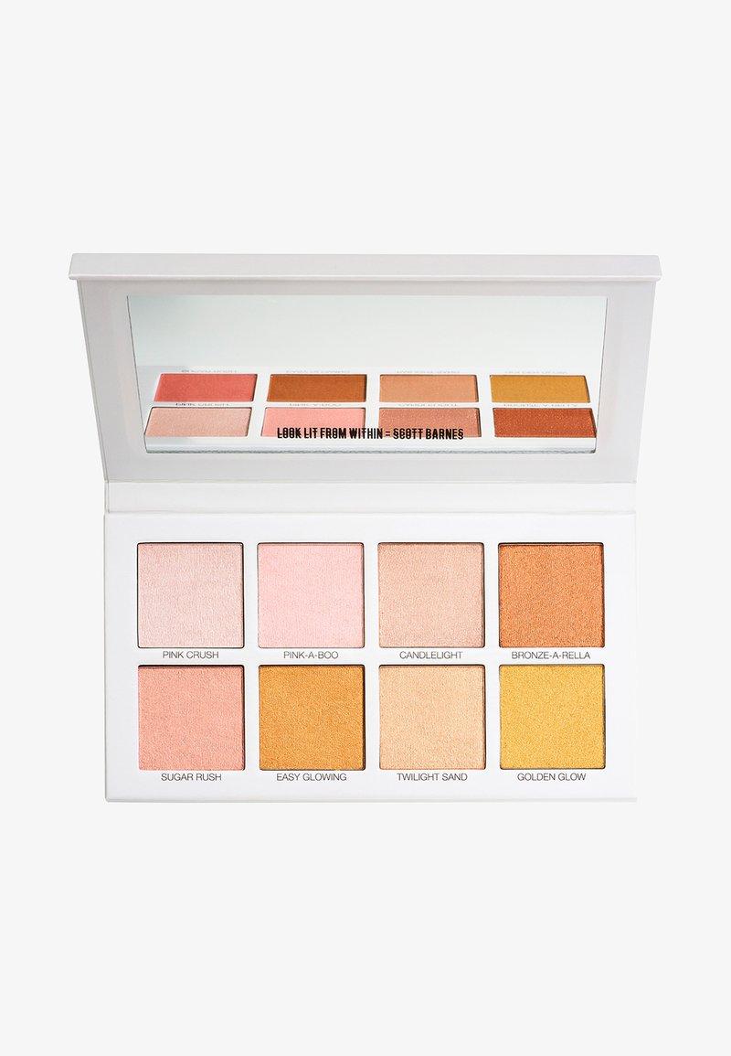 scott barnes - GLOWY & SHOWY NO 1 - Face palette - multicoloured