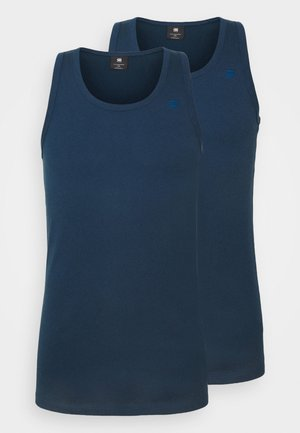 BASE TANK  2 PACK - Viršus - luna blue
