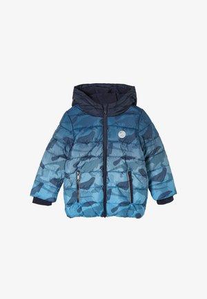 FUNKTIONS MIT PRINT - Winterjas - blue, dark blue