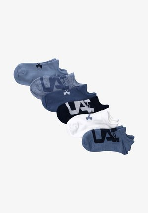6ER PACK - Trainer socks - blau