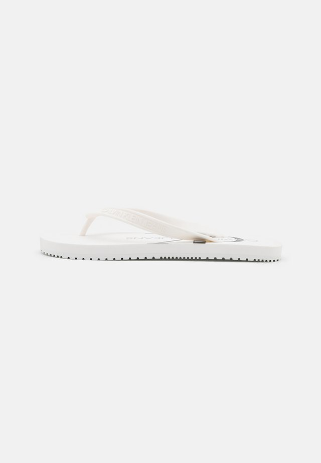 BEACH MONOGRAM - Teensandalen - bright white