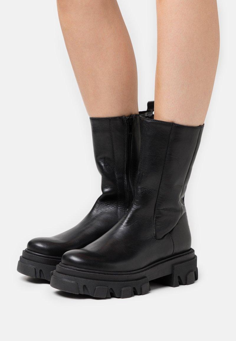 Zign - Platåstøvler - black