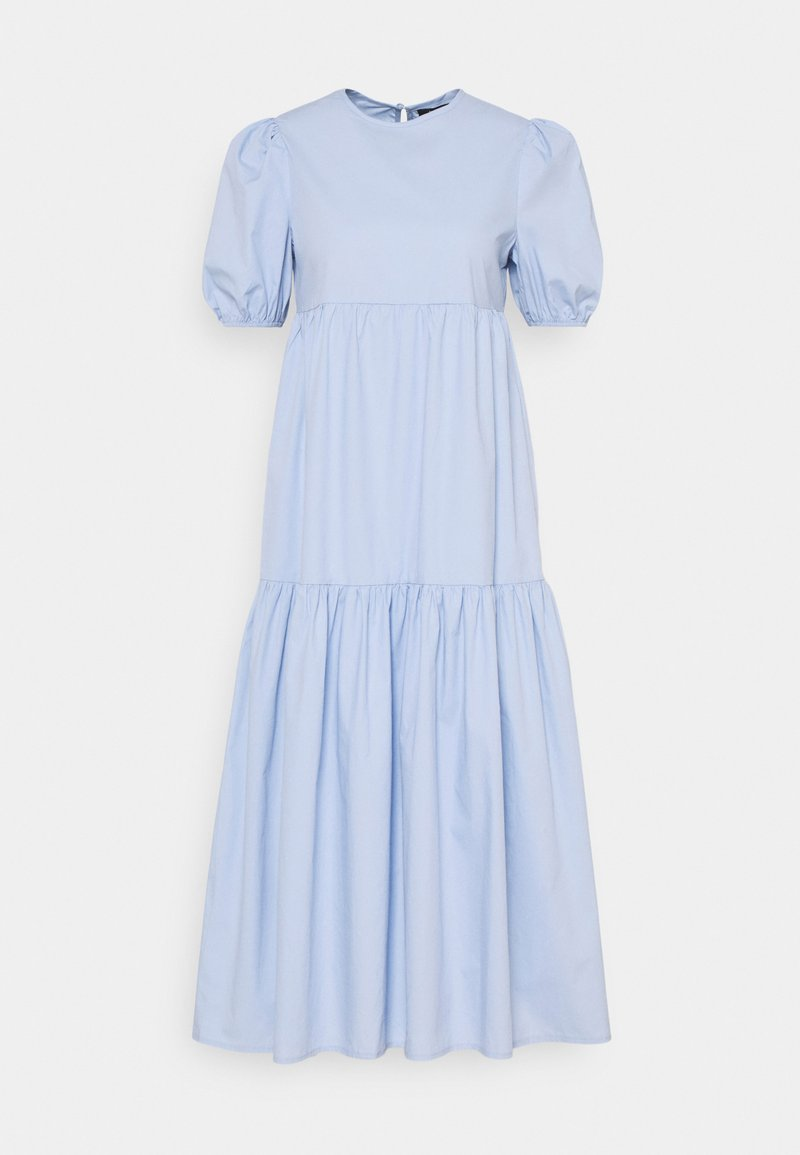 Missguided - MIDAXI SMOCK DRESS - Day dress - baby blue