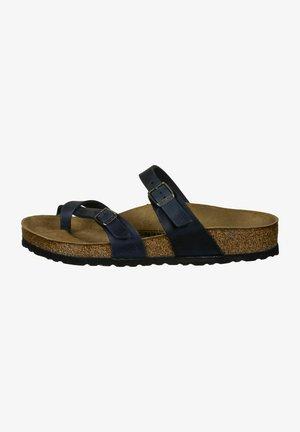 MAYARI - T-bar sandals - blau