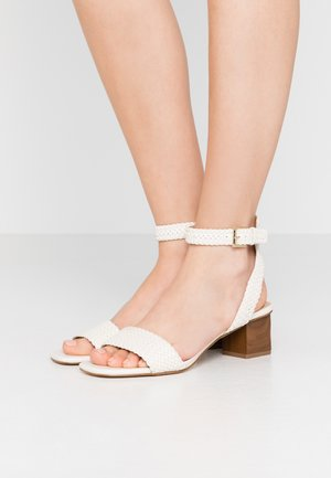 PETRA MID - Sandals - light cream