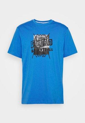 HOOPS STREET TEE - Print T-shirt - palace blue