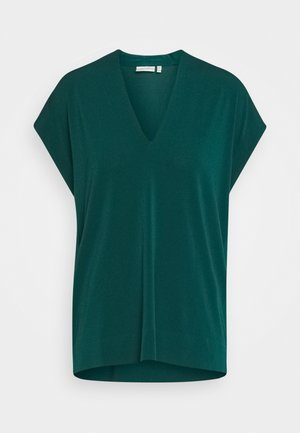 YAMINI - Print T-shirt - warm green