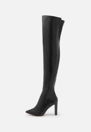 THEJAN - Stivali sopra il ginocchio - black