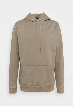 HOODED - Sweatshirt - taupe