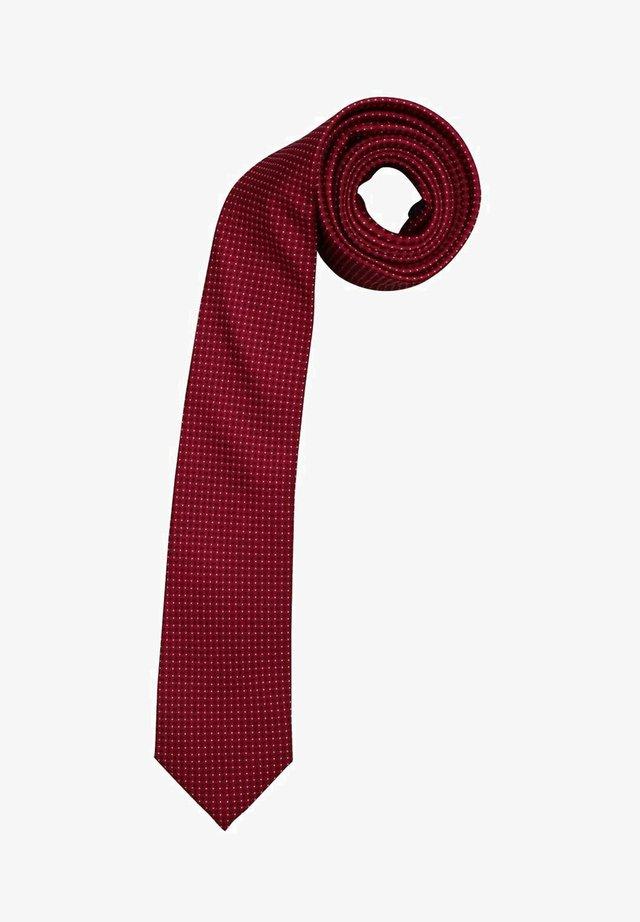 Tie - orange - rot