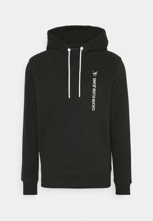 GRAPHIC BACK LOGO HOODIE UNISEX - Sweatshirt - black