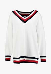 Tommy Hilfiger - ESSENTIAL TIPPING - Maglione - white - 3